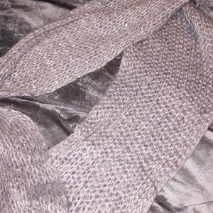 infinity grey scarf